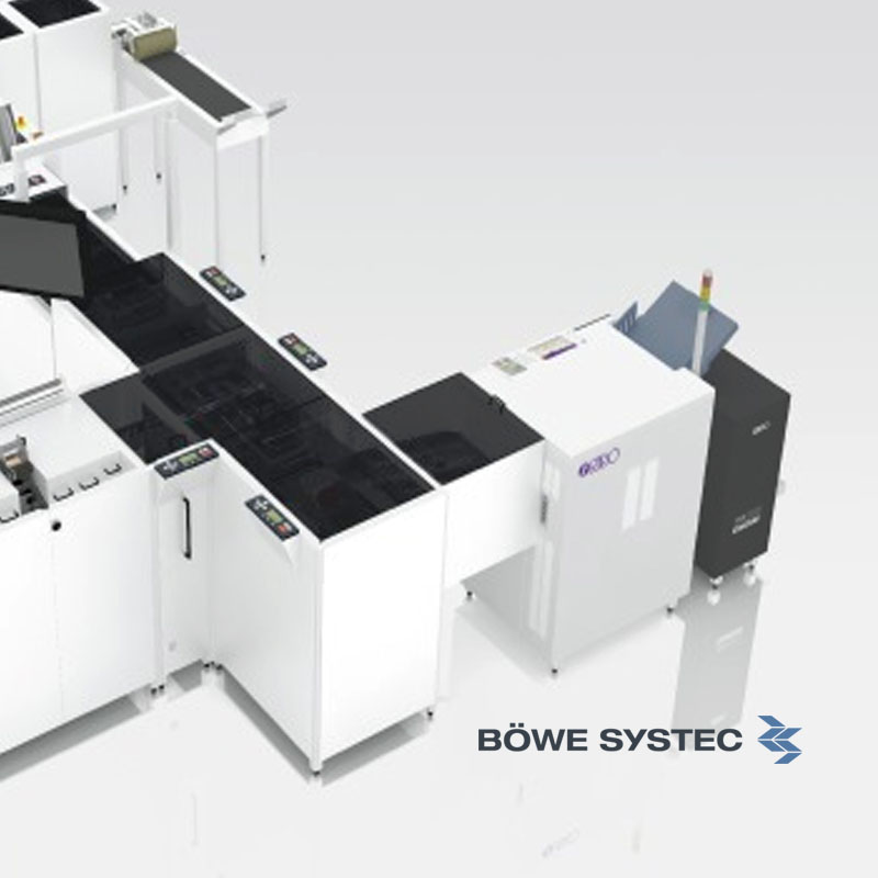 Bowe Systec Card Mailing, Document Cutting, Enveloping, Mail Sorting, Self Mailing